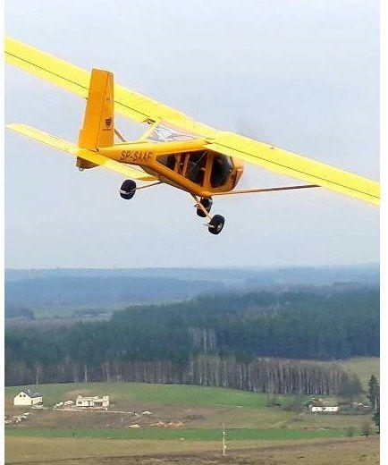 Lot widokowy samolotem  Olsztyn