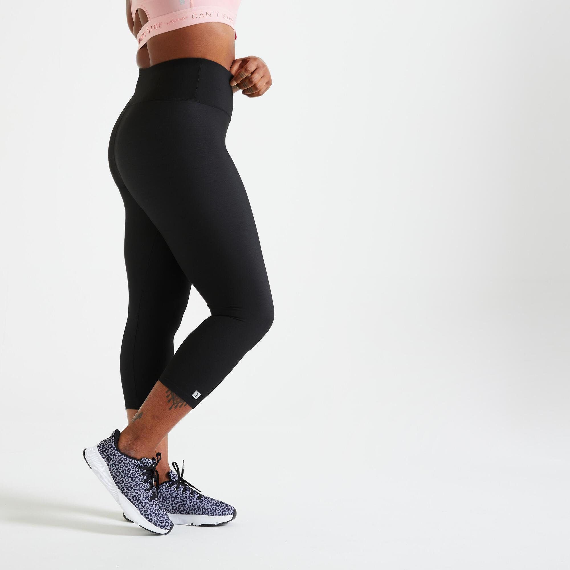 Legginsy fitness damskie Domyos krótkie
