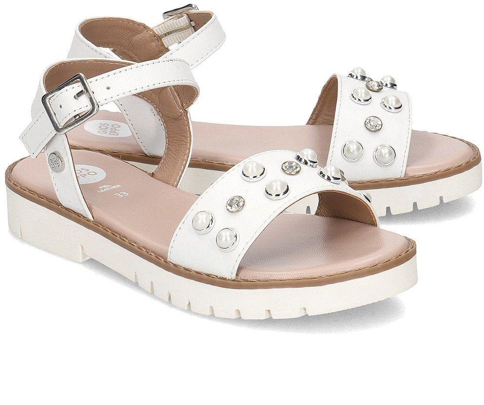 Gioseppo - Sandały Dziecięce - MERIGNAC 47872 WHITE - Biały