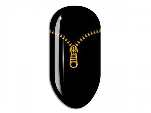 Nail Art Stikers Mollon Pro F009G naklejki do zdobienia