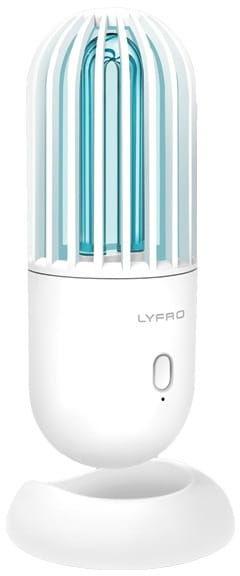 LYFRO Hova lampa dezynfekująca UV-C z funkcją ozonowania sterylizator biały/white