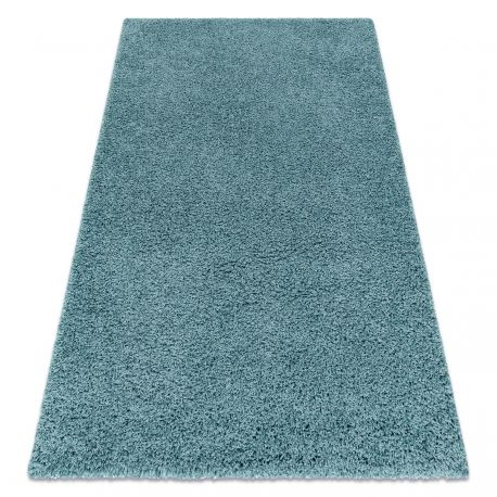 Dywan SOFFI shaggy 5cm niebieski 60x100 cm