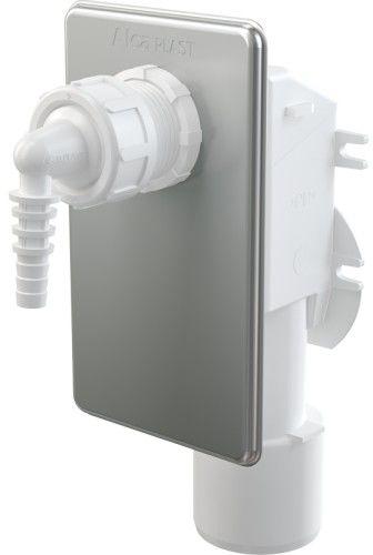Syfon podtynkowy do odprowadzania kondensatu, nierdzewny DN40 i DN50