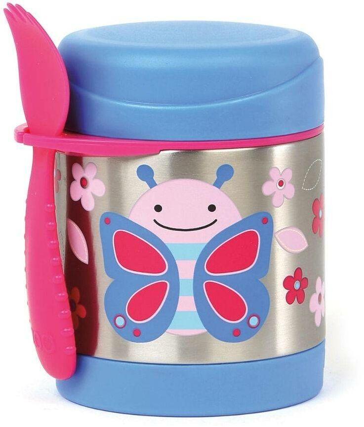 Termos dziecięcy na deser 325 ml Skip Hop Zoo - butterfly