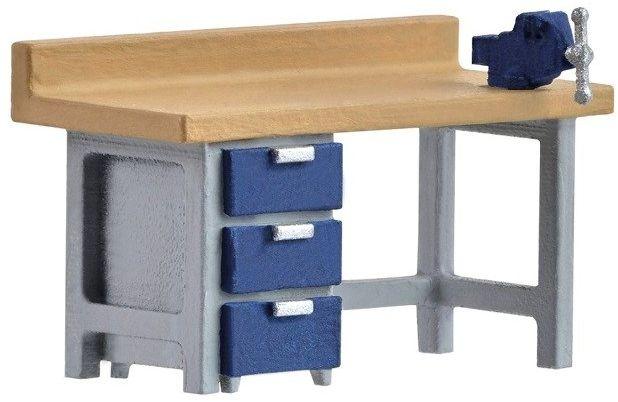 Stół Warsztatowy z Imadłem model H0 Kibri
