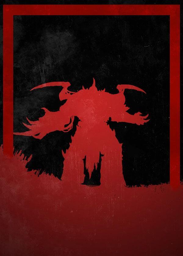 Dusk of villains - horus, warhammer 40k - plakat wymiar do wyboru: 40x50 cm