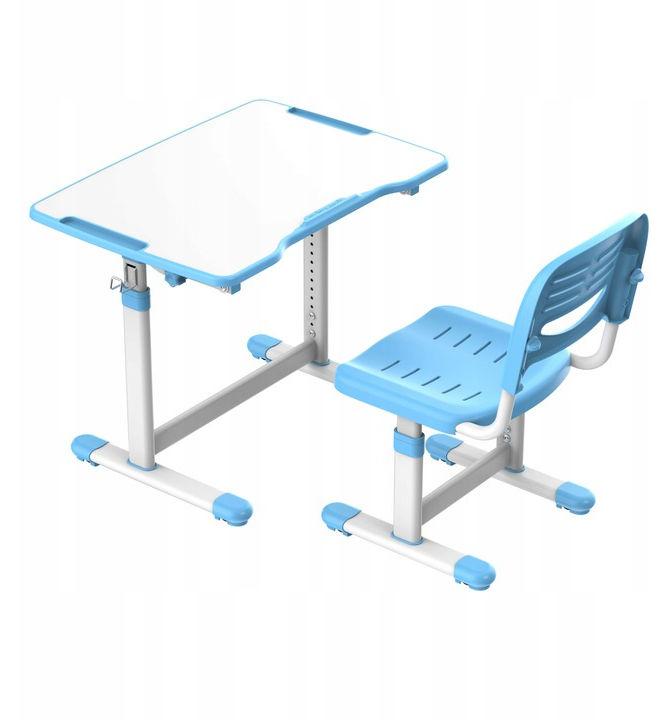 Regulowane biurko dziecięce Sole II Blue-S FunDesk
