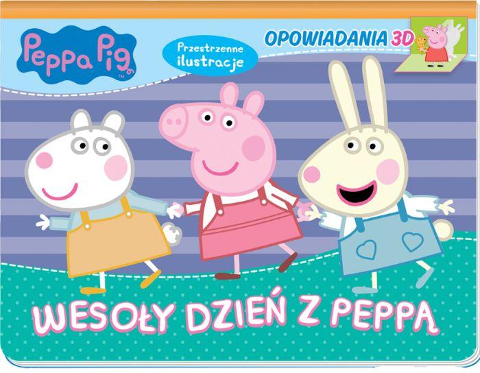 Świnka Peppa Opowiadania 3D 1 Wesoły dzień z Peppą (rozkładanka)