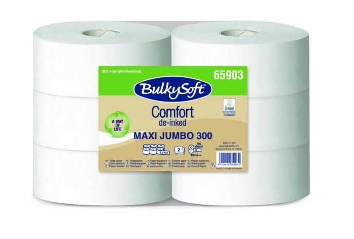 Papier toaletowy BulkySoft Comfort EKOLOGICZNY