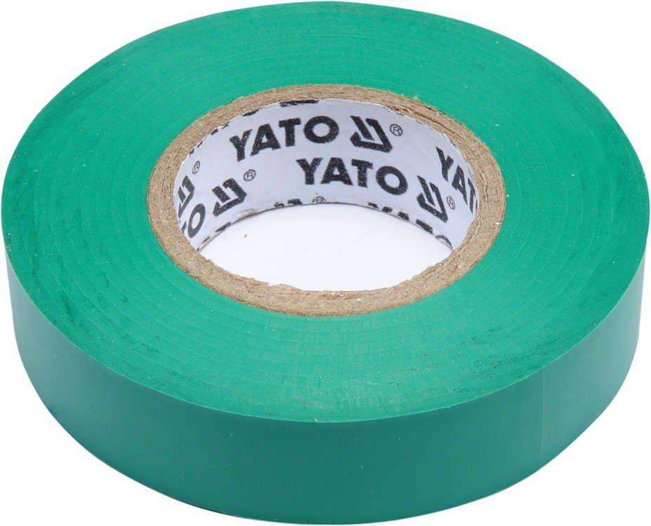 Taśma elektroizolacyjna 15mmx20mx0,13mm; zielona Yato YT-81595 - ZYSKAJ RABAT 30 ZŁ