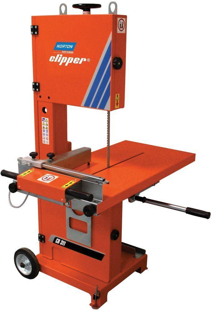 NORTON CLIPPER CB311 PIŁA PILARKA PRZECINARKA TAŚMOWA MURARSKA STOŁOWA STOLIKOWA DO PUSTAKÓW BLOCZKÓW BUDOWLANA 1.5KW 230V - OFICJALNY DYSTRYBUTOR - AUTORYZOWANY DEALER NORTON CLIPPER