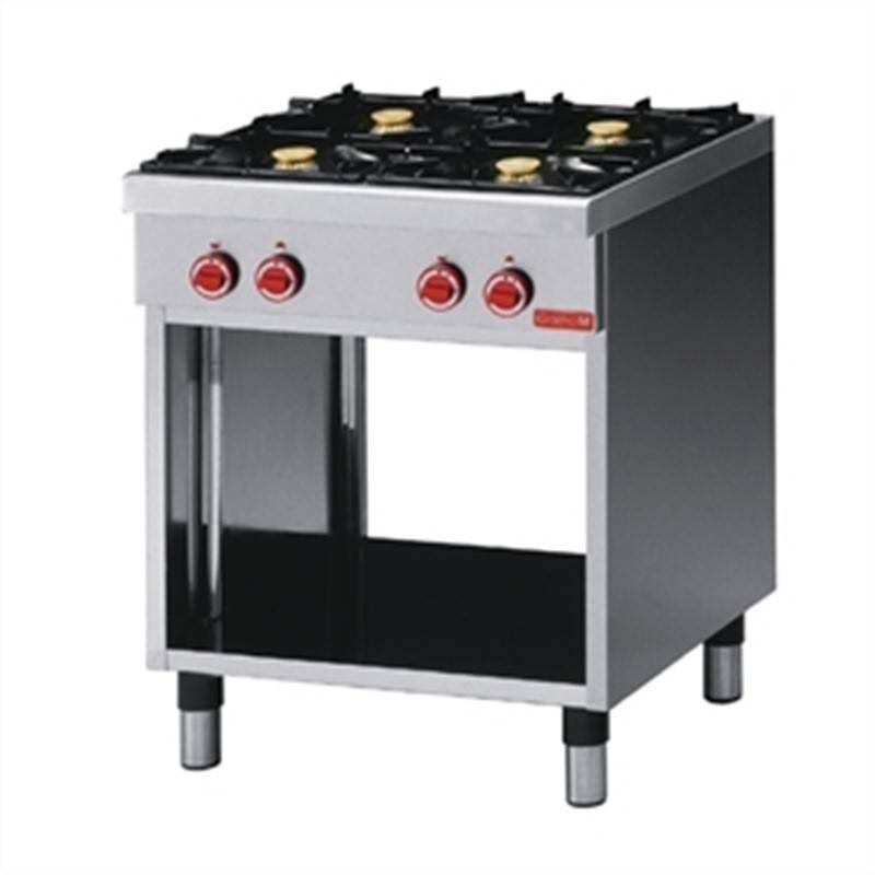 Kuchnia gazowa 4 palnikowa 17200W