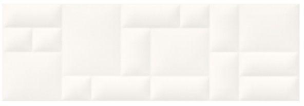 Glazura Marika Cersanit 29 x 89 cm biała struktura 0,77 m2