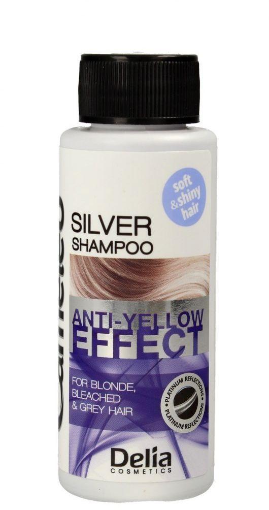 Delia Delia Cosmetics Cameleo Silver Szampon do włosów blond i siwych - mini 50ml
