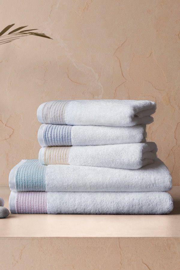 Ręczniki kąpielowe MOLLIS 75x150 cm Żółty