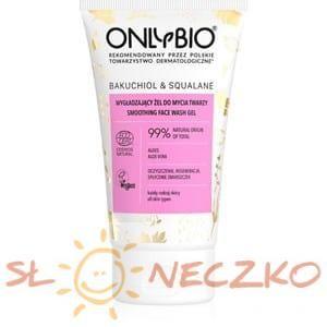 Żel do mycia twarzy wygładzający BAKUCHIOL I SKWALAN ECO 150 ml - ONLY BIO