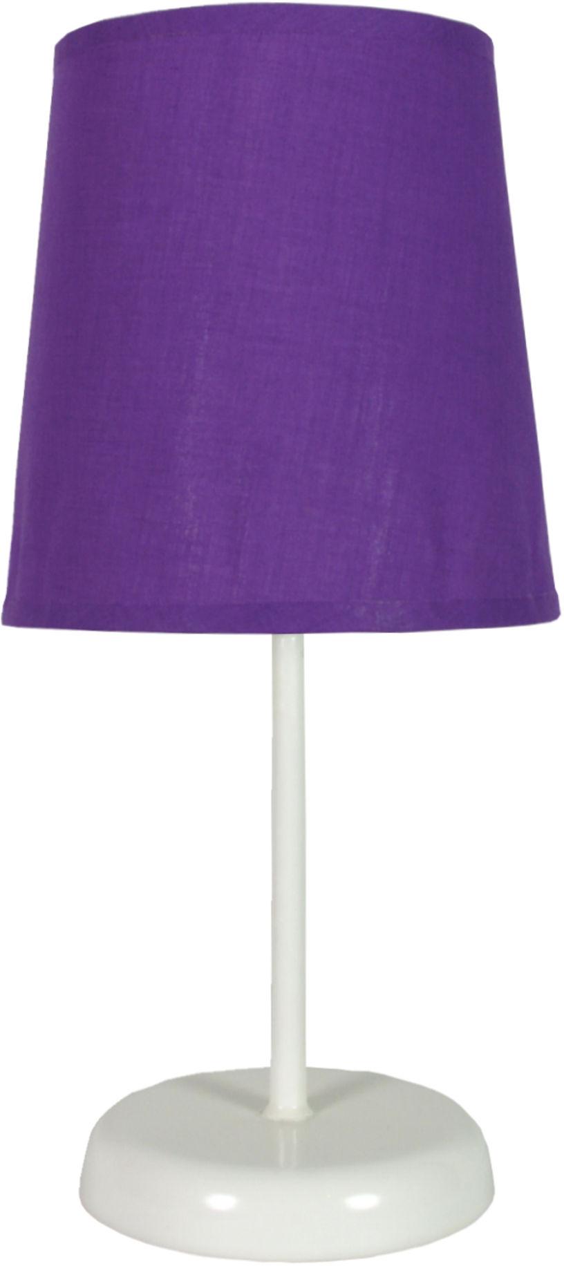 Candellux GALA 41-98392 lampa stołowa abażur fioletowa 1X40W E14 14 cm