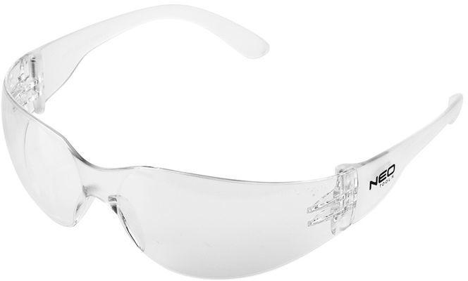 Okulary ochronne białe soczewki klasa odpornosci F 97-502