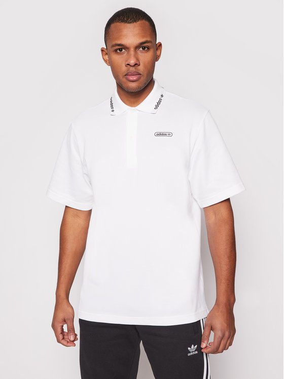 Polo Summer GN3835 Biały Regular Fit