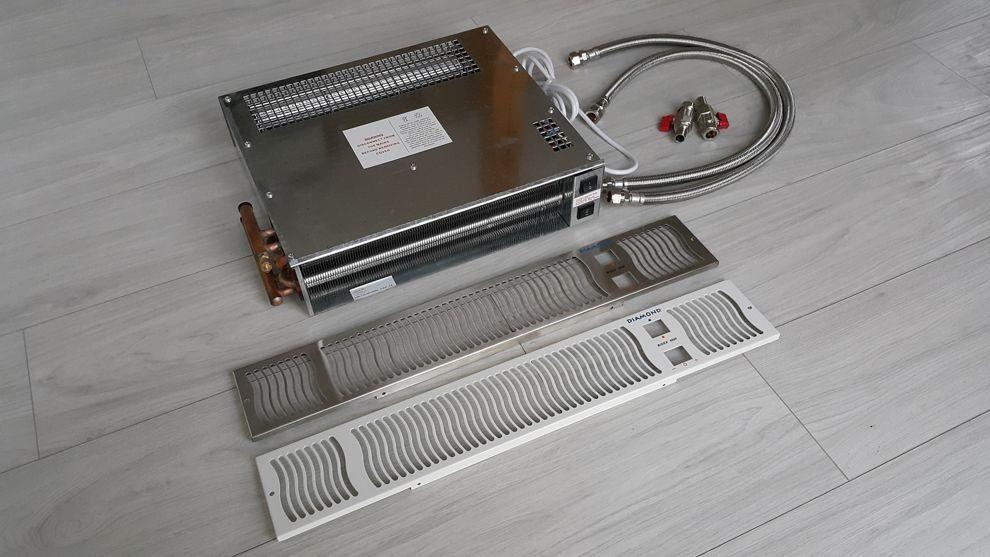 Grzejnik cokołowy (kuchenny) - 600x100 (bidex900)