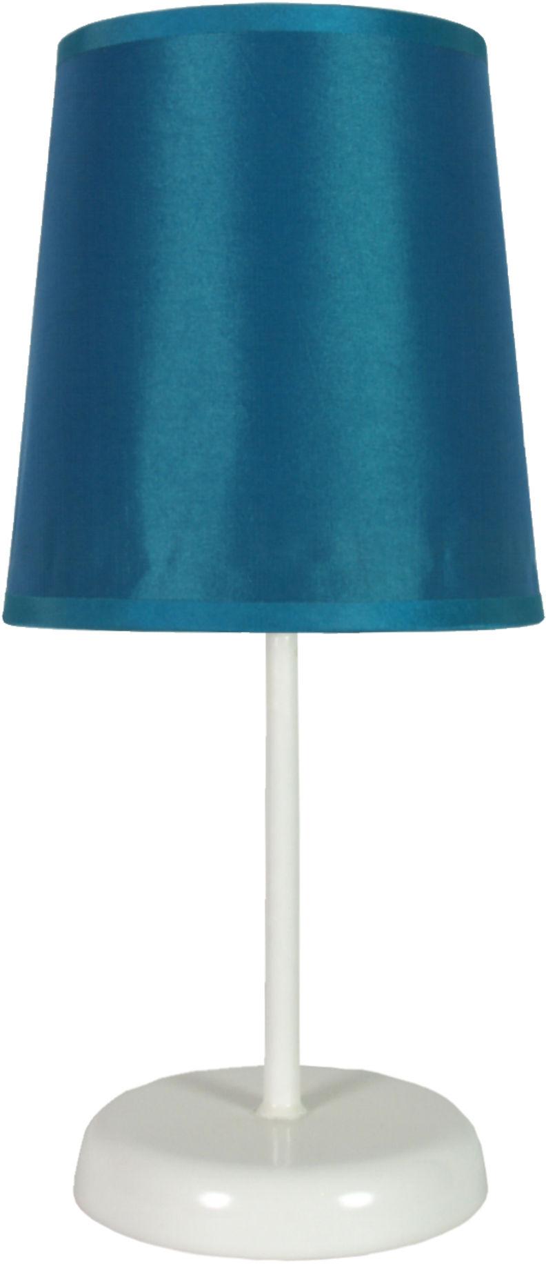 Candellux GALA 41-98545 lampa stołowa abażur niebieski 1X40W E14 14 cm
