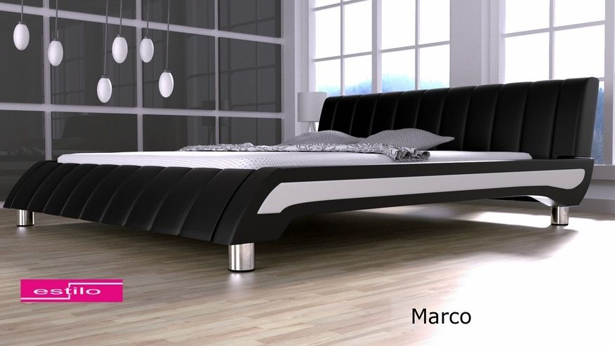 Łóżko tapicerowane Marco 200x220 - tkanina