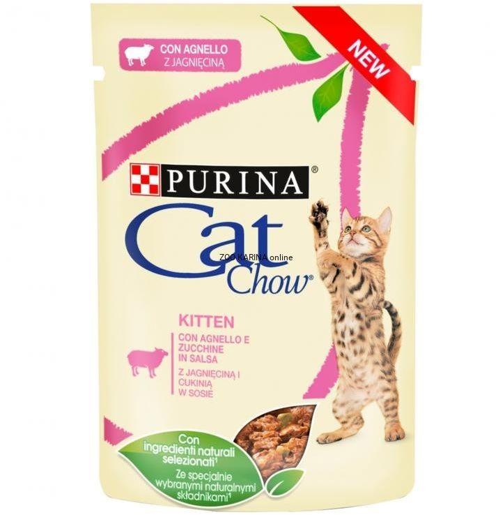 PURINA - Cat chow z jagnięciną 85g