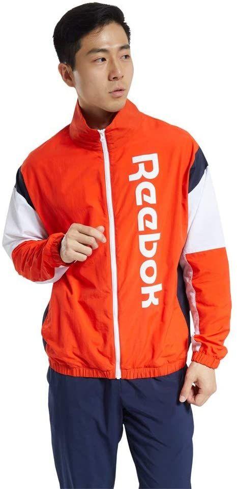 Reebok Męska TE LL Woven Jacket bluza, czerwona (insred), M
