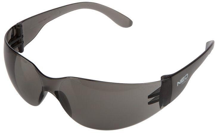 Okulary ochronne przyciemniane soczewki klasa odpornosci F 97-504