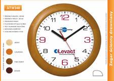 Zegar reklamowy drewniany /340mm