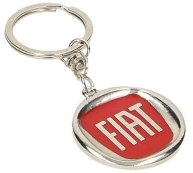 KeyChain Ltd. Brelok metalowy - Fiat