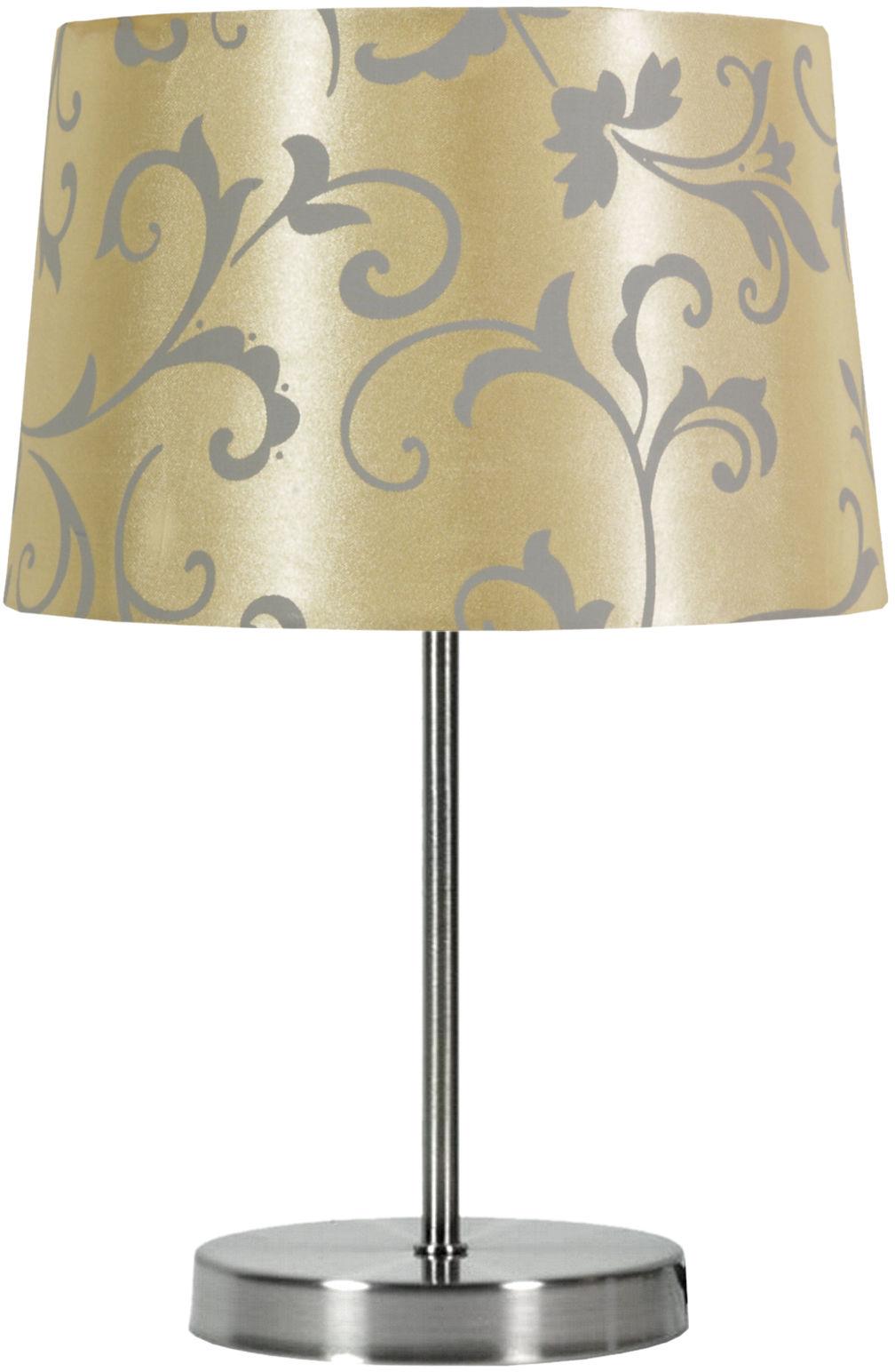 Candellux AROSA 41-55859 lampa stołowa abażur beżowy 1X40W E14 21cm