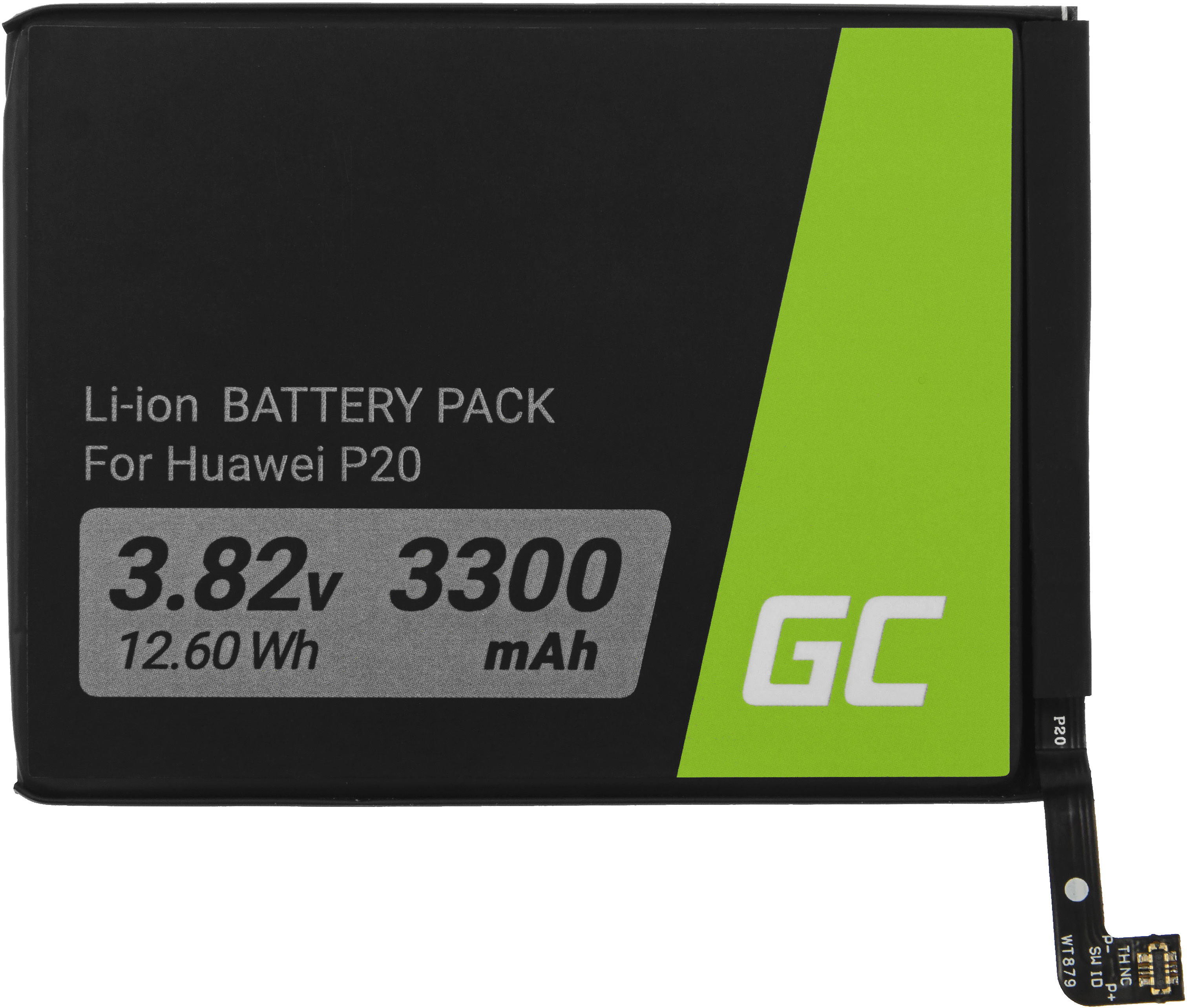 Bateria Green Cell HB396285ECW do telefonu Huawei P20 / Honor 10