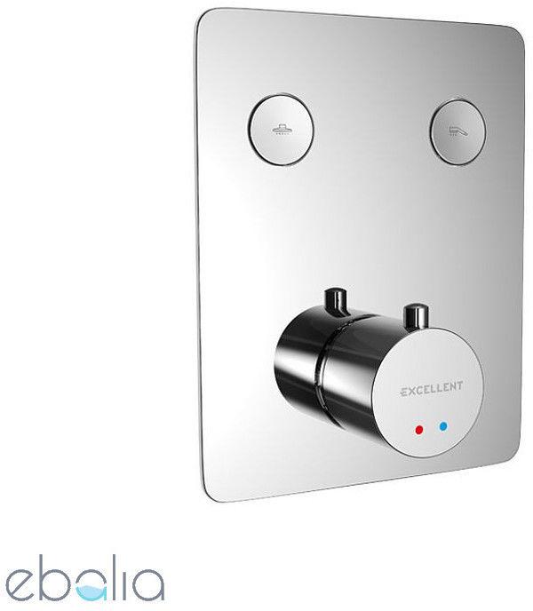 EXCELLENT - Bateria podtynkowa prysznicowa-wannowa termo 2 wyjściowa Krotos - ZNALAZŁEŚ TANIEJ? ZADZWOŃ 726 713 313