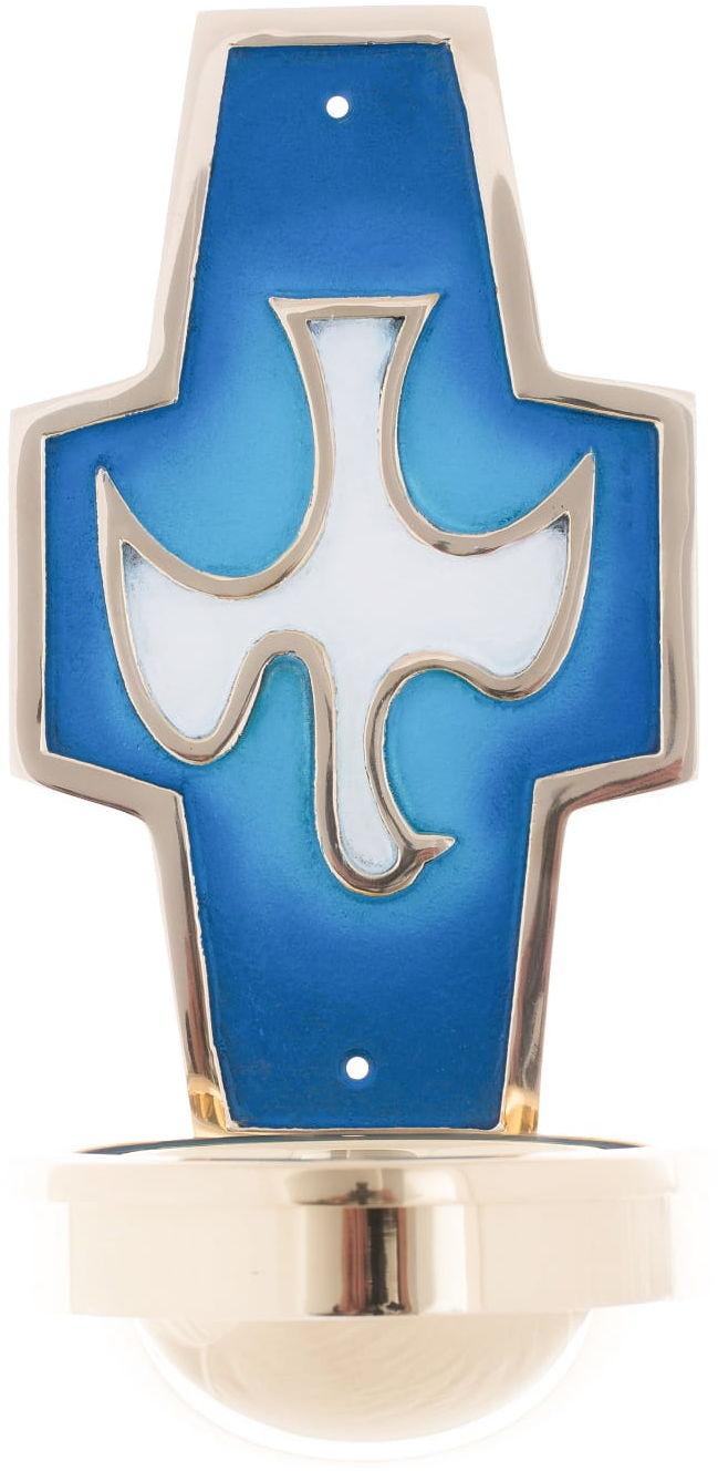Kropielnica - mosiądz - Duch Święty