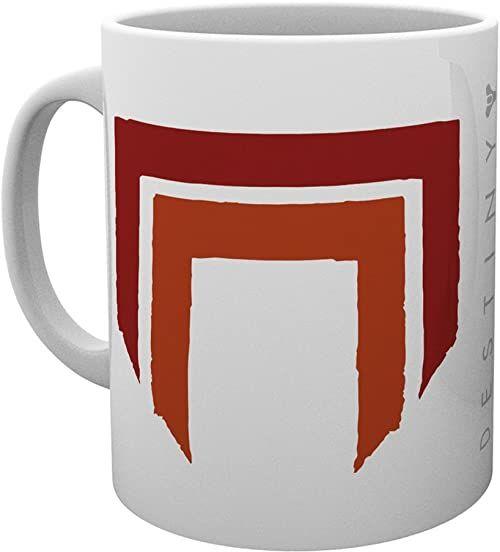 GB eye LTD, Destiny 2, Red Legion, kubek, ceramiczny, różnorodny, 15 x 10 x 9 cm
