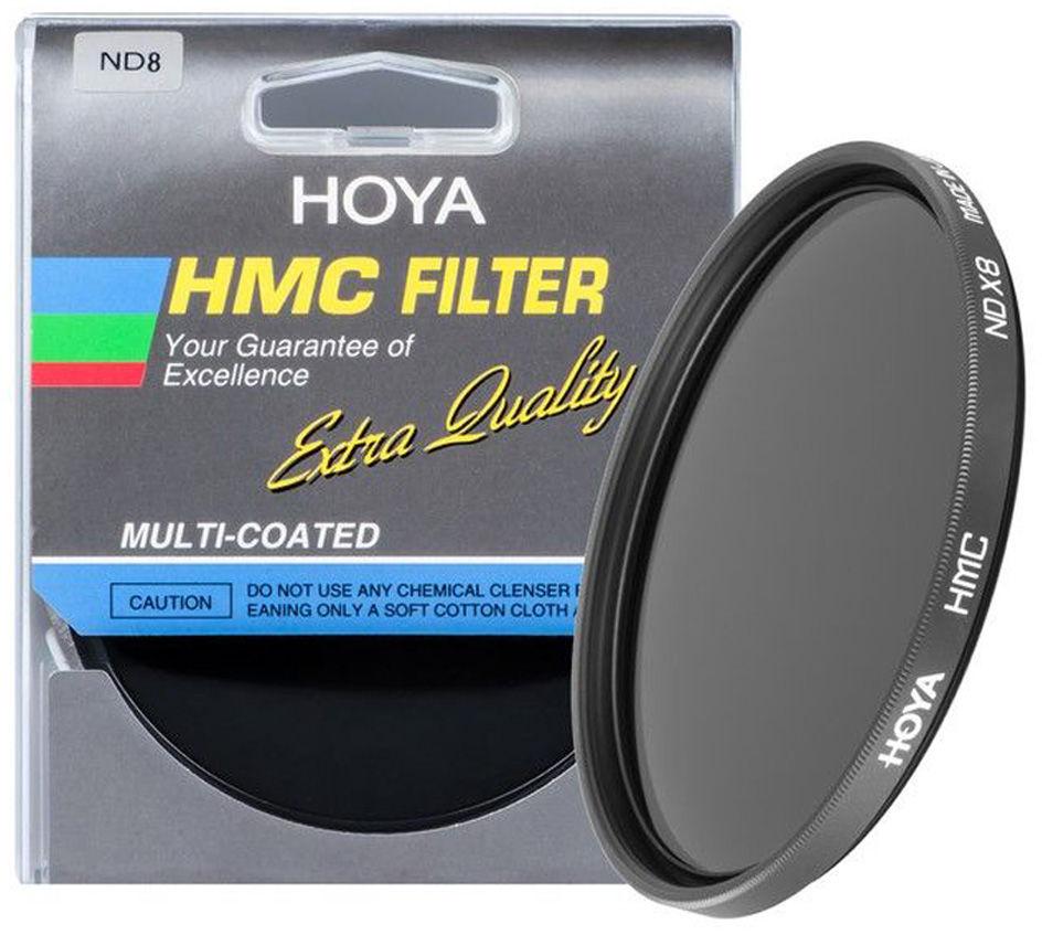Filtr szary Hoya ND8 HMC 62mm