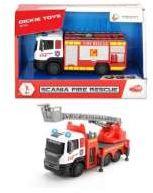Dickie Straż pożarna Scania metalowa 17cm /2 rodzaje (203712016038)