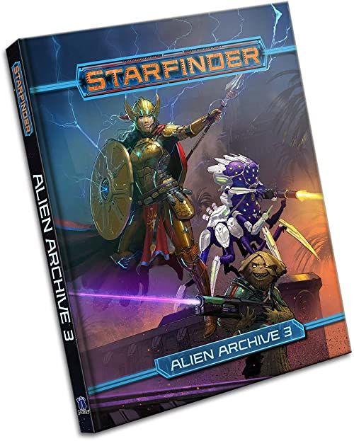 Pasini, J: Starfinder RPG: Alien Archive 3