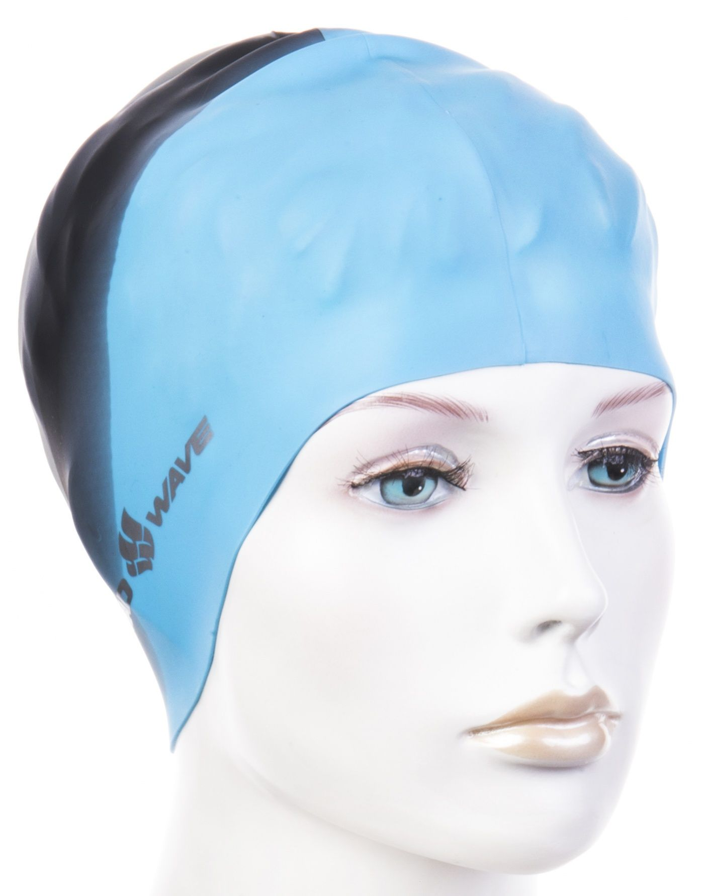 Czepek pływacki mad wave multi big silicone niebieski