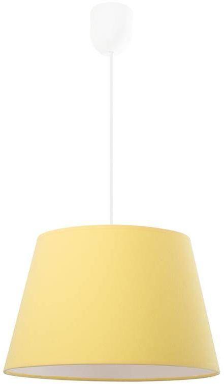 Lampa wisząca Pastel żółta
