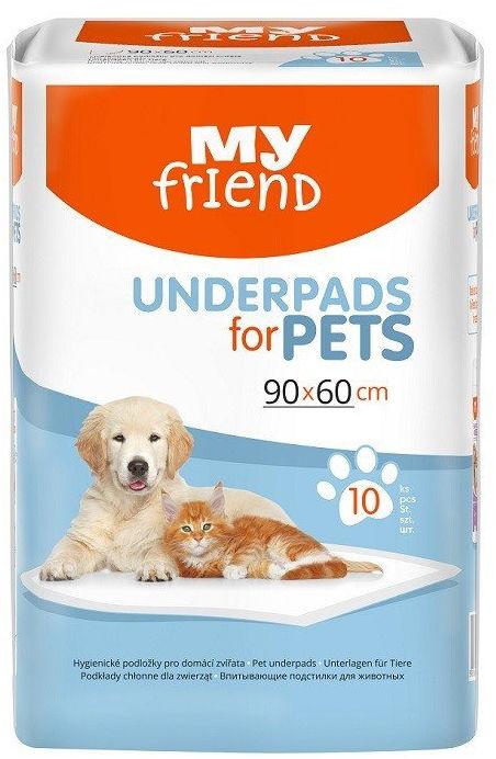Podkłady higieniczne dla zwierząt My Friend 10 szt