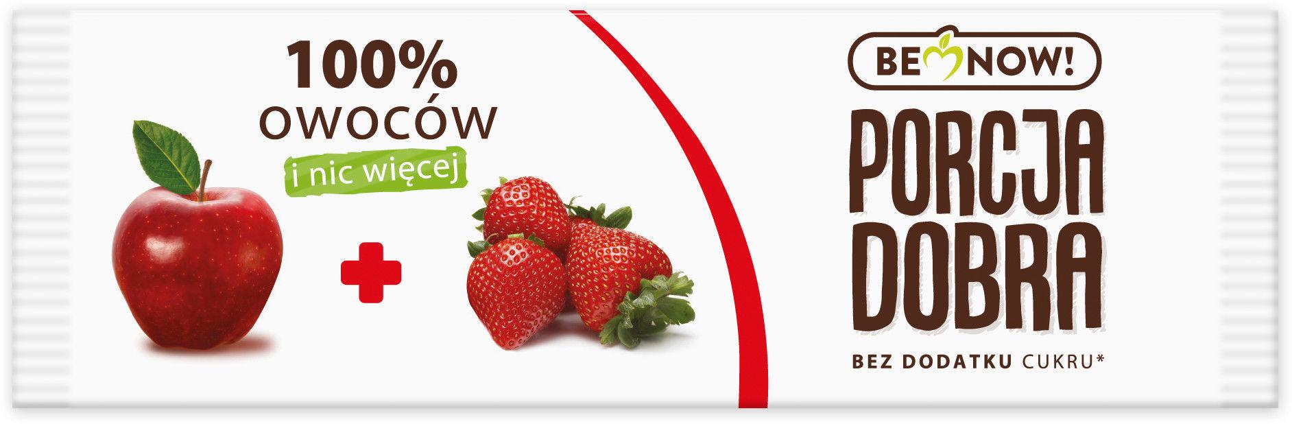 Porcja Dobra Przekąska jabłkowo - truskawkowa - 16 g