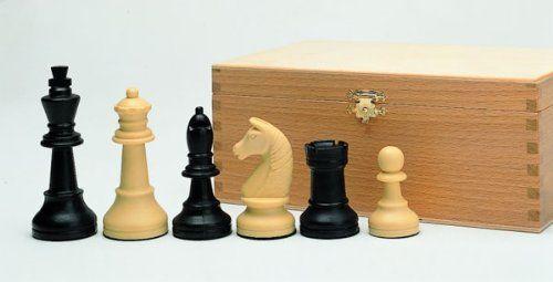 Gra na Boże Narodzenie 01016 - figury szachowe, tworzywo sztuczne, 90 mm