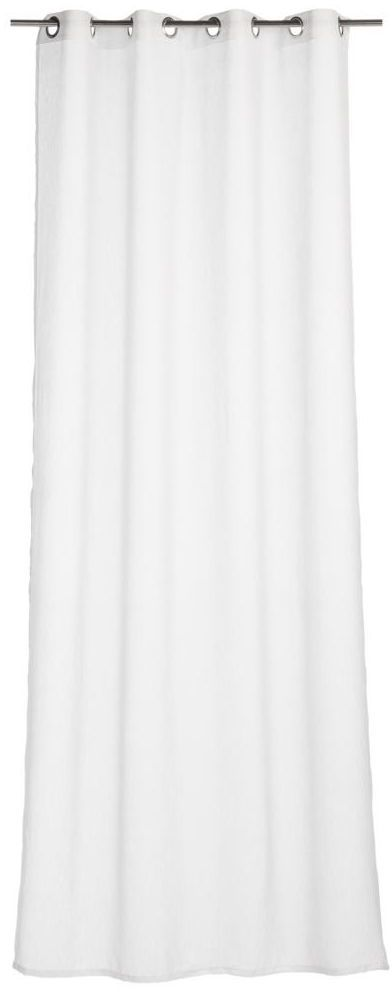 Firana na przelotkach Softy 140 x 260 cm biała Inspire