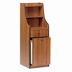 """Stacja kelnerska 1 szuflada 1 szuflada głęboka """"wiśnia"""" 480x480x(H)1450mm"""