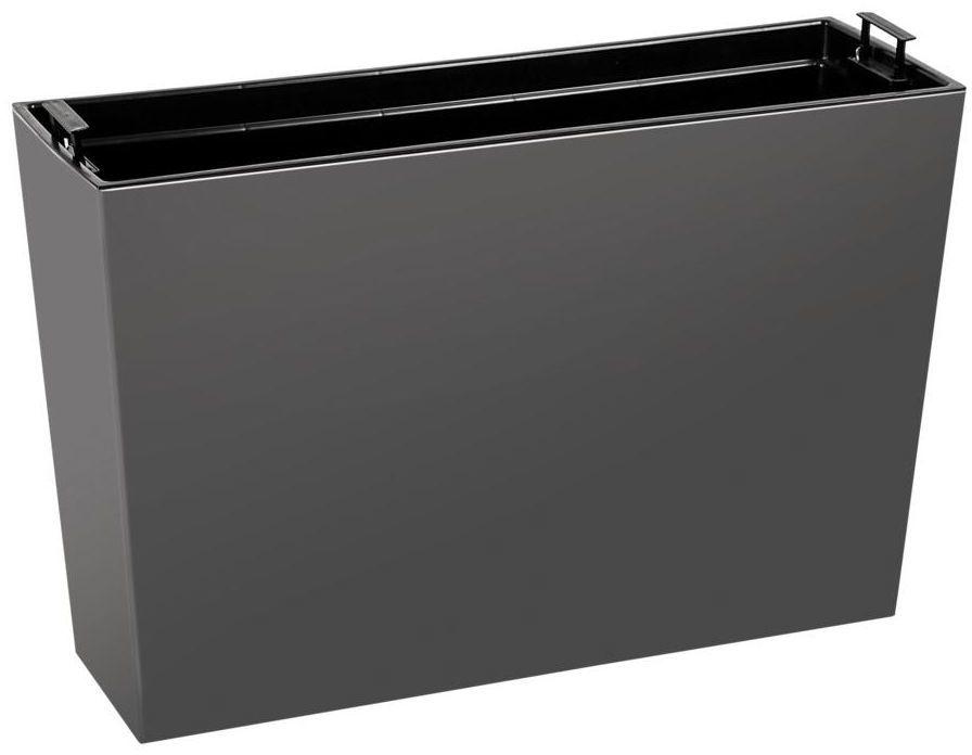 Kwietnik / Donica balkonowa 56 x 19 cm grafitowa WERBENA