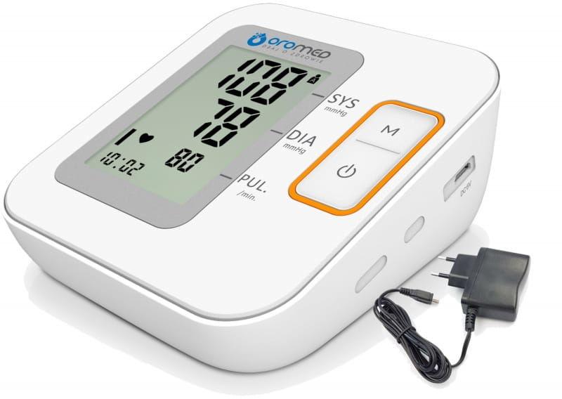 Ciśnieniomierz elektroniczny ORO-MED N2 BASIC zasilacz