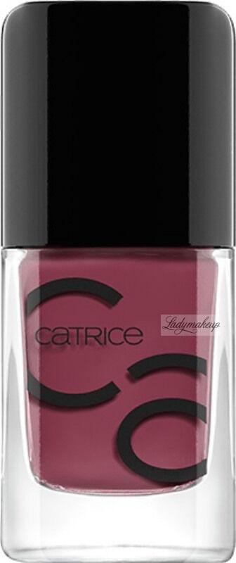 Catrice - ICONails Gel Lacquer - Żelowy lakier do paznokci - 101 - BERRY MARY