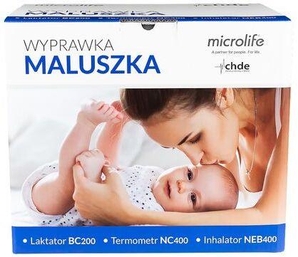 Wyprawka Maluszka Microlife: Laktator BC200 + Termometr NC400 + Inhalator NEB400